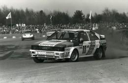 Belgique Voiture Rallye Rallycross Course Audi Quattro Franz Wurz Ancienne Photo Vanderhaegen 1982