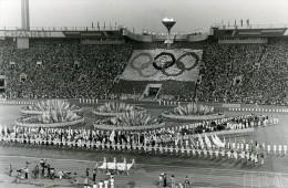 Russie Moscou Ceremonie De Cloture Des Jeux Olympiques Ancienne Photo 1980 - Sports