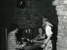 Pologne Silesie Bytom Piwnice Gorywodow Restaurant Ancienne Photo 1970