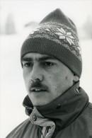 France La Plagne Josef Schreiner Championnat D'Europe De Bobsleigh Photo Vanderhaegen 1986