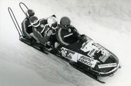 France La Plagne Championnat D'Europe De Bobsleigh Photo Vanderhaegen 1986