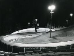 Autriche Innsbruck Jeux Olympiques D'Hiver Piste De Bobsleigh Ancienne Photo 1976
