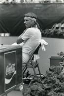 USA New York Flushing Meadow Bjorn Borg Tennis Ancienne Photo 1981 - Sports