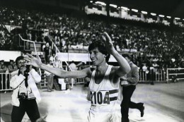 Belgique Bruxelles Stade Du Heysel Sebastian Coe Ancienne Photo 1978 - Sports