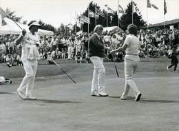 Belgique Royal Waterloo Golf Club Davies Burton Ancienne Photo 1986 - Sports