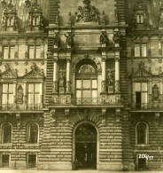 Allemagne Hambourg Hotel De Ville Ancienne Stereo Photo NPG 1900 - Stereoscopic