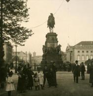 Allemagne Berlin Opernplatz Ancienne Stereo Photo Stereoscope NPG 1900 - Stereoscopic