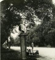 Allemagne Berlin Charlottenburg Parc Ancienne Stereo Photo Stereoscope NPG 1900 - Stereoscopic