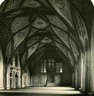 Autriche Hongrie Prague Château Salle Wladislaw Ancienne Photo Stereo NPG 1900 - Stereoscopic