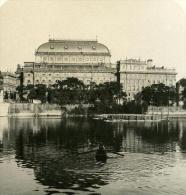 Autriche Hongrie Prague Theatre National Ancienne Photo Stereo NPG 1900 - Photos Stéréoscopiques