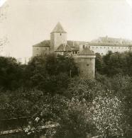 Autriche Hongrie Prague Tour Daliborka Ancienne Photo Stereo NPG 1900 - Stereoscopic