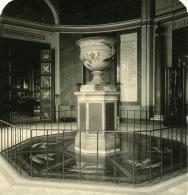 France Paris Musée Du Louvre Rotonde D Apollon Ancienne Photo Stereo NPG 1900 - Photos Stéréoscopiques