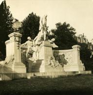France Paris Instantanée Avenue Du Bois De Boulogne Ancienne Photo Stereo NPG 1900 - Stereoscopic