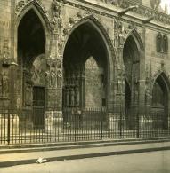 France Paris Instantanée Eglise Saint Germain Ancienne Photo Stereo NPG 1900 - Photos Stéréoscopiques