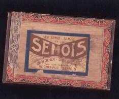 Rochehaut Sur Semois  TABAC DE LA SEMOIS BRIDOUX DELOGNE - Boites à Tabac Vides