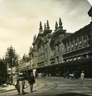 France Paris Instantanée Gare Du Nord Ancienne Photo Stereo NPG 1900 - Stereoscopic