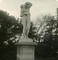 France Paris Instantanée Tuileries Jardin Ancienne Photo Stereo NPG 1900 - Stereoscopic