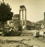 Italie Rome Forum Romain Regia Ancienne Photo Stereo NPG 1900 - Stereoscopic