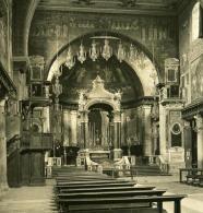 Italie Rome Eglise De San Prassede Ancienne Photo Stereo NPG 1900 - Stereoscopic