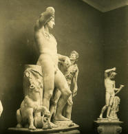 Italie Rome Musée National Romain Sculpture Ancienne Photo Stereo NPG 1900 - Stereoscopic