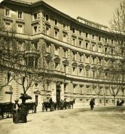 Italie Rome Hotel Suizzero Ancienne Photo Stereo NPG 1900 - Stereoscopic