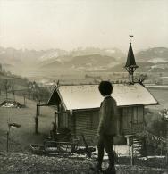 Allemagne Montagne Bavaroise Sonthofen Ancienne Photo Stereo NPG 1900 - Stereoscopic