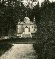 Allemagne Montagne Bavaroise Château De Linderhof Ancienne Photo Stereo NPG 1900 - Photos Stéréoscopiques