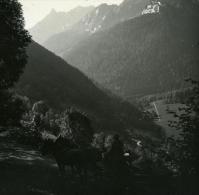 France Pyrénées Luchon Val De La Glere Crete De Baliran Ancienne Possemiers Stereo Photo 1920 - Stereoscopic