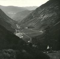 France Pyrénées 31110 Luchon Vallée Inferieure D Astau Ancienne Possemiers Stereo Photo 1920 - Stereoscopic