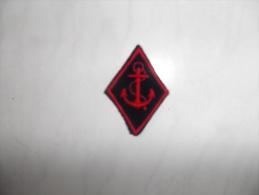 écusson De L´infanterie De Marine - Ecussons Tissu
