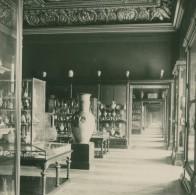 France Paris Musée Du Louvre Salle Des Céramiques Ancienne NPG Stereo Photo 1900 - Stereoscopic