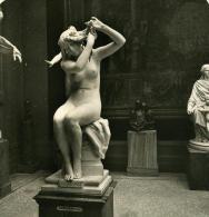 France Paris Musée Du Luxembourg Sculpteur Hector Lemaire Ancienne NPG Stereo Photo 1900 - Stereoscopic