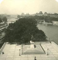 France Paris Panorama Ancienne NPG Stereo Photo 1900 - Stereoscopic
