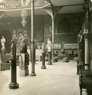 France Paris Musée De Cluny Moyen Age Detail Ancienne NPG Stereo Photo 1900 - Stereoscopic