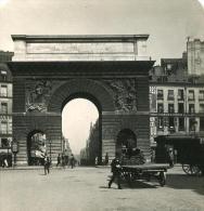 France Paris Porte Saint Martin Ancienne NPG Stereo Photo 1900 - Photos Stéréoscopiques