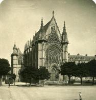 France Paris Vincennes Chapelle Du Fort Ancienne NPG Stereo Photo 1900 - Stereoscopic