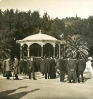 Italie Rome Concert De Musique Au Pincio Ancienne NPG Stereo Photo 1900 - Stereoscopic