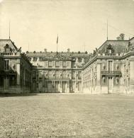 France Chateau De Versailles Facade Ancienne NPG Stereo Photo 1900 - Stereoscopic