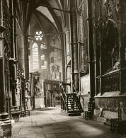 Royaume Uni Londres Abbaye De Westminster Detail Ancienne Rotary Stereo Photo 1900 - Stereoscopic
