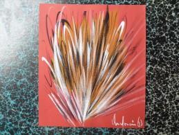 DESSIN ACRYLIQUE  Signé ANDRE JEAN DOUCIN  1963 - Acryliques
