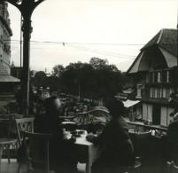 Suisse Lac De Thoune Interlaken Ancienne Photo Stereo Possemiers 1920 - Stereoscopic