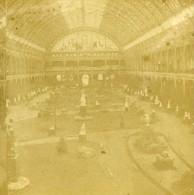 France Paris Interieur Du Palais De L'Industrie Ancienne Photo Stereo 1865 - Stereoscopic