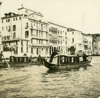 Italie Venise Grand Canal Palais Ca' D'Oro Ancienne Photo Stereo Possemiers 1908 - Stereoscopic