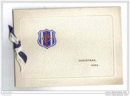 London Swakeleys Ickenham Christmas 1930 Foreign Office Sport Club - Cartes