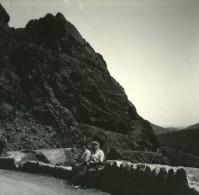 France Corse Sortie De L Inzecca Ancienne Stereo Photo Amateur 1920 - Stereoscopic