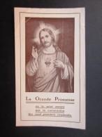 IMAGES PIEUSES (M1503) LA GRNDE PROMESSE (2 Vues) Apostolat Populaire 16, Rue Des Paroissiens, Bruxelles - Images Religieuses