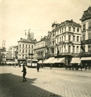 Belgique Port D Anvers Place De Meir Ancienne NPG Stereo Photo 1906 - Stereoscopic