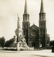 Belgique Port D Anvers Eglise St Joseph Ancienne NPG Stereo Photo 1906 - Stereo-Photographie