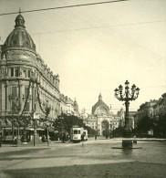 Belgique Port D Anvers Avenue De Keyser Ancienne NPG Stereo Photo 1906 - Stereoscopic