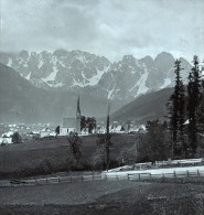 Autriche Salzkammergut Donnerkogelu Ancienne Wurthle Stereo Photo 1906 - Stereoscopic